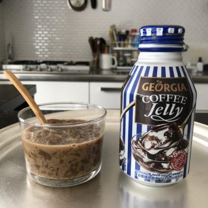 「飲む」コーヒーゼリーを自販機で発見!ジョージアだけに意外なほど美味しかった、その味は…【kufura編集部日誌】