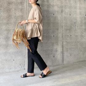 気になる「夏素材バッグ」かごにネット…オトナのセレクトは?【kufuraファッション調査隊】