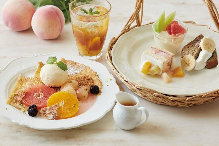 【アフタヌーンティー・ティールーム】フルーツたっぷりの夏の新メニューが7月30日スタート!