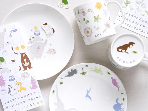ニッコーの食器をオリジナルのデザインで!子どもと一緒におうちで絵付けが楽しめるキットが発売