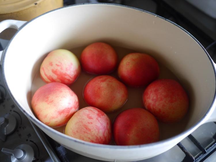 「桃が甘くない」そんな年は、料理で愉しむ。農作物は工業製品ではないのだから…【お米農家のヨメごはん#33】
