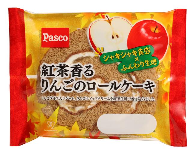 「Pasco」から秋素材の食感を楽しめるパンシリーズが新登場!りんごにさつまいも、くるみまで