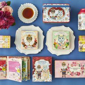 【Afternoon Tea】ラ・フランス、マロンの紅茶やスイーツなどの秋商品が登場!限定パッケージにも注目