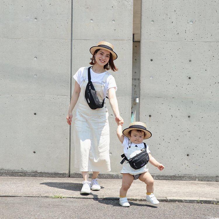 ママに嬉しい「サコッシュ&ウエストバッグ」今、コーデに取り入れるなら?【kufuraファッション調査隊】