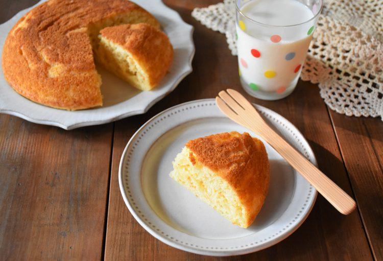 ホットクック にんじんケーキ