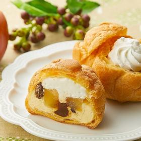 「ローソンストア100」9月後半の新商品は…りんご&レーズンシュークリームや肉まんなど全15品が登場!