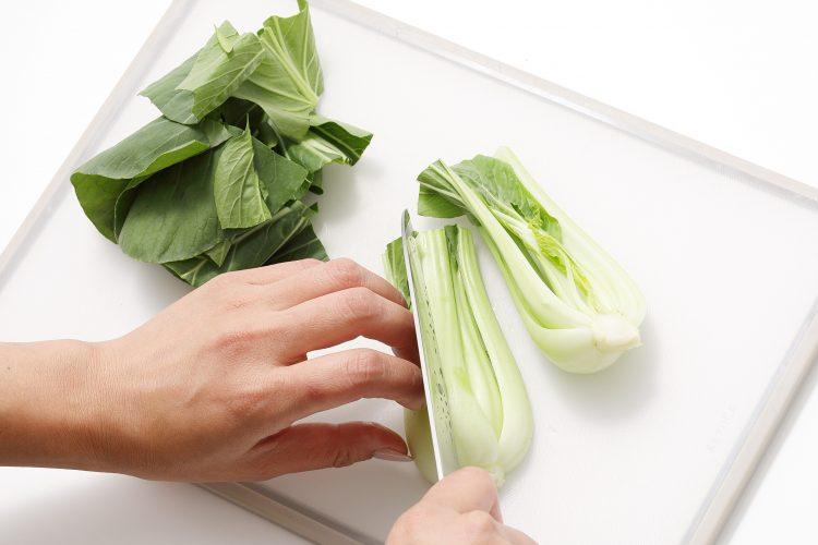 チンゲン菜 切り方