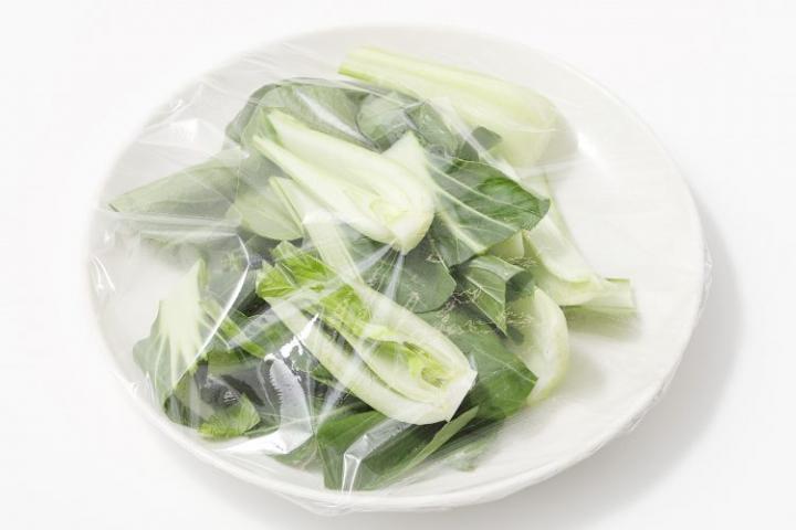 チンゲン菜 レンジ