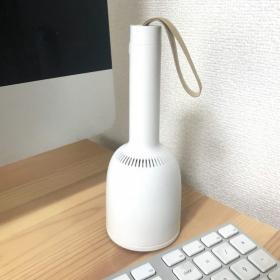 コードレス「卓上クリーナー」で気になっていたキーボードの隙間もスッキリ!