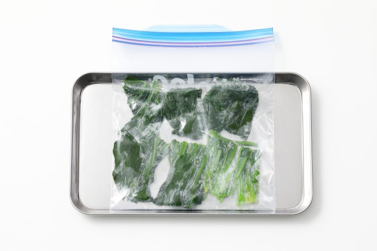 ほうれん草 冷蔵保存