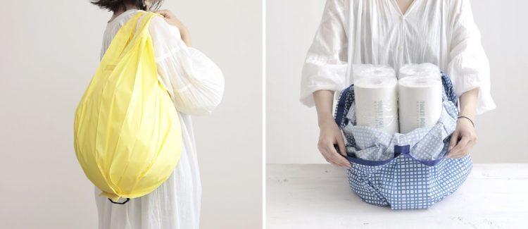 スリムなのに大容量!一気にたためるタテ型バッグ「Shupatto」にLサイズが新登場