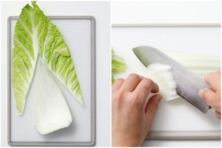 白菜 そぎ切り