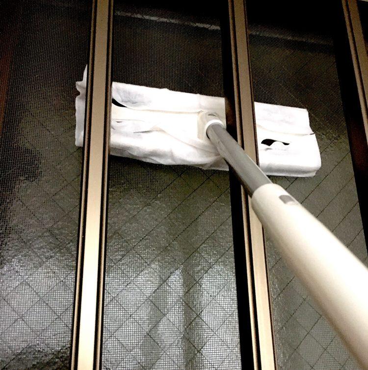 高いところも楽らく!ダイソーの「網戸用ワイパー」は大掃除の強い味方でした【本日のお気に入り】