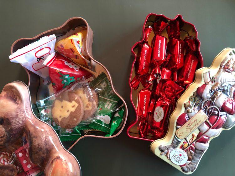 カルディ クリスマス 缶菓子