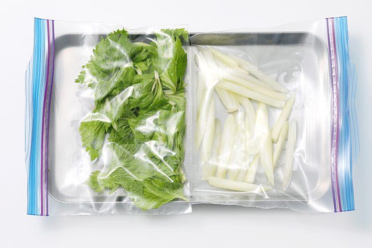 セロリ 冷凍保存 方法