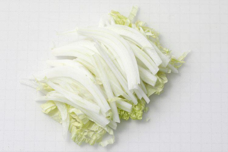白菜 細切り