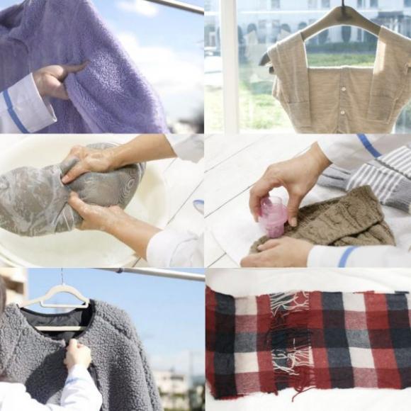 ボアジャケットもダウンも… 冬の衣類はおうちで洗ってスッキリ! 【プロが教える「冬物洗い」】