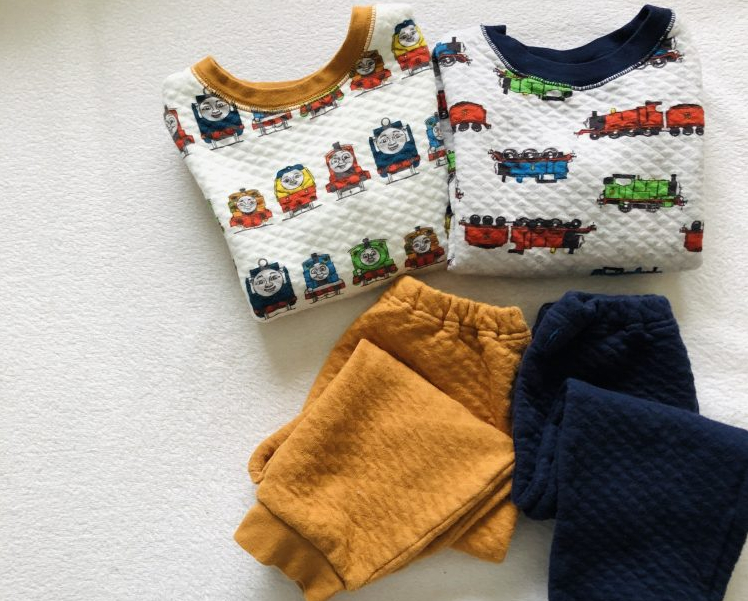 ユニクロと機関車トーマスのコラボ!キッズパジャマセットで子どももママも大喜び【本日のお気に入り】