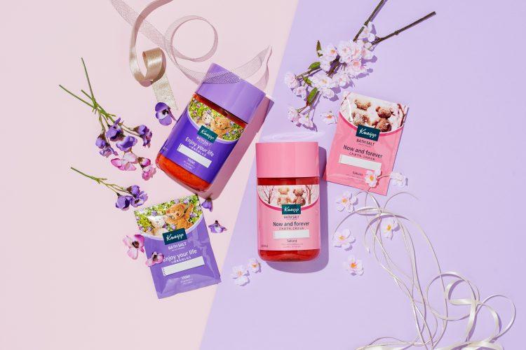 春を先取り!クナイプからサクラ&スミレの香りのバスソルトが数量限定発売