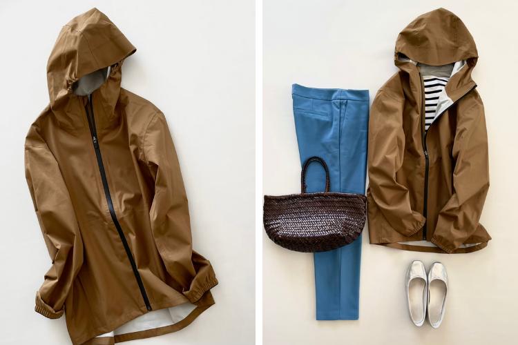 「無印良品(メンズ)」の撥水フードジャケット(5,990円)はきれいめに着る!【4ケタアイテムで叶えるオシャレvol.4】
