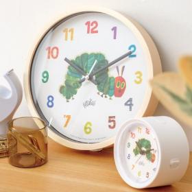 大好きなキャラクターと毎日一緒!レオ・レオニ&エリック・カールの絵本が時計になりました