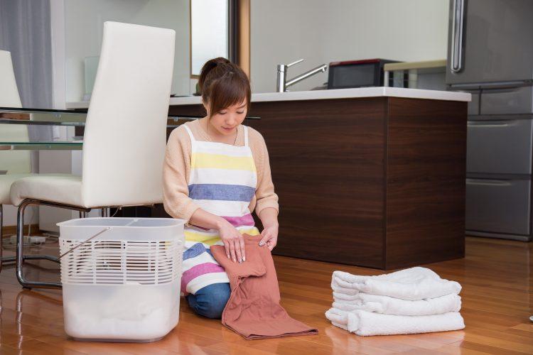 毎回洗濯物を畳むのが面倒!そんな悩みの末に主婦たちがあみだした今よりラクになる工夫