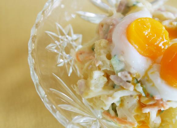 家族が大絶賛! 松田美智子さんの 「人気のポテトサラダ」