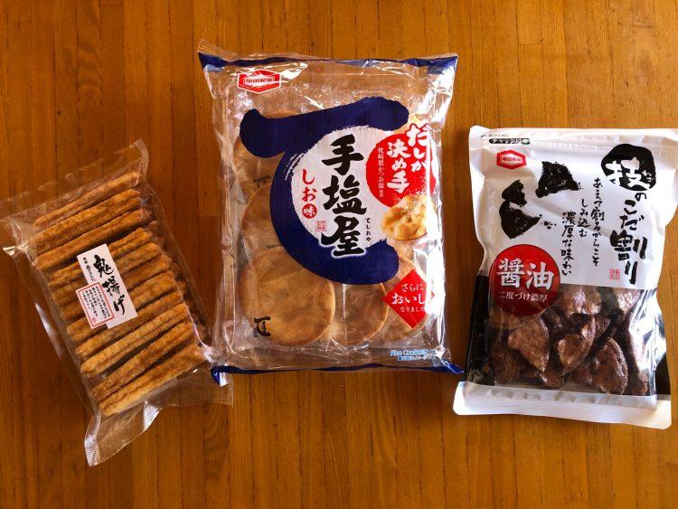 身近に買える「おせんべい」の中からお気に入りを紹介します【81歳の料理家・祐成陽子さんの、ずっと美味しいモノ】#23