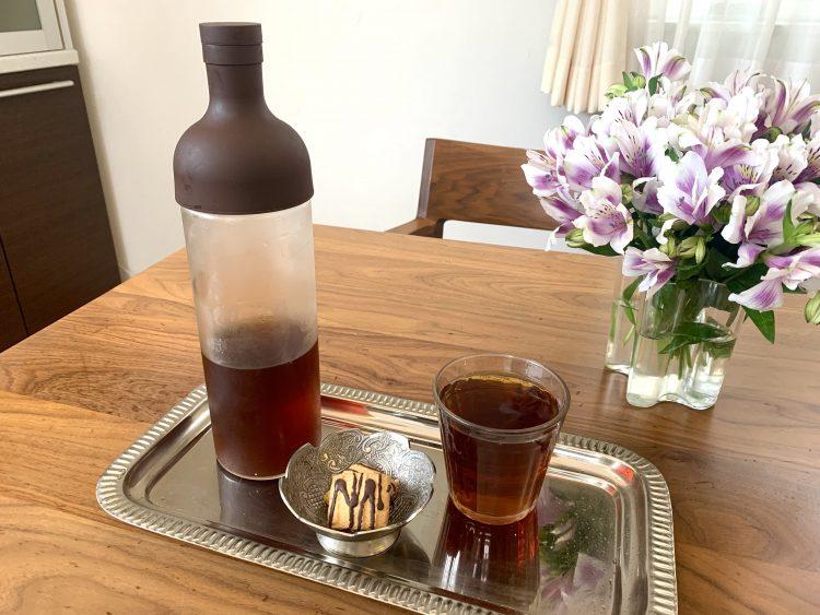 おいしい水出しアイスコーヒーが簡単に作れる!HARIOのフィルターインコーヒーボトル【本日のお気に入り】