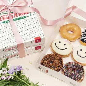 母の日にぴったり!クリスピー・クリーム・ドーナツからママの笑顔をイメージしたスマイルドーナツが期間限定で発売