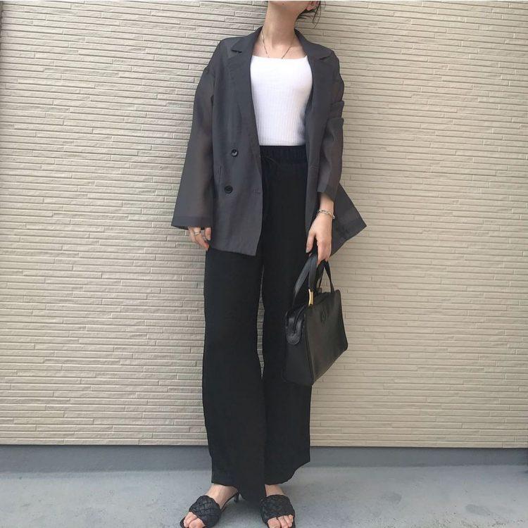GU、しまむらの「シアー」「半袖」ジャケットが大人気!夏まで着られる大人のはおりもの【kufuraファッション調査隊】