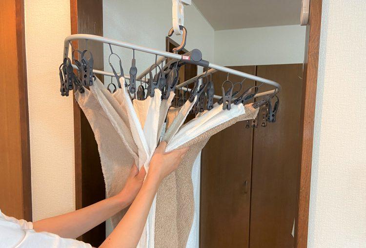 引っ張るだけで取り込める「カインズ」の洗濯ハンガーをゲット!【本日のお気に入り】
