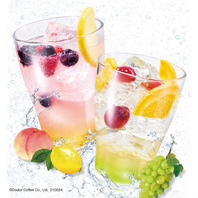 エクセルシオールカフェから、夏の暑い日にぴったりのビネガーソーダドリンク発売!