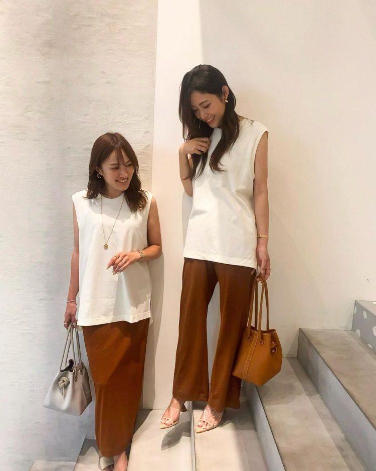「夏のブラウンコーデ」話題のUniqlo and Mame Kurogouchiも!こなれ感ある着こなしを大調査【kufuraファッション調査隊】