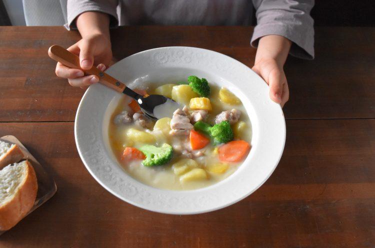 【ルウあり&なし2つのクリームシチュー】ママ料理家 楠さんちのホットクックレシピ Vol.11