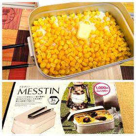 ダイソーの「3合メスティン」で自動炊飯!おうちでアウトドア料理に挑戦【本日のお気に入り】