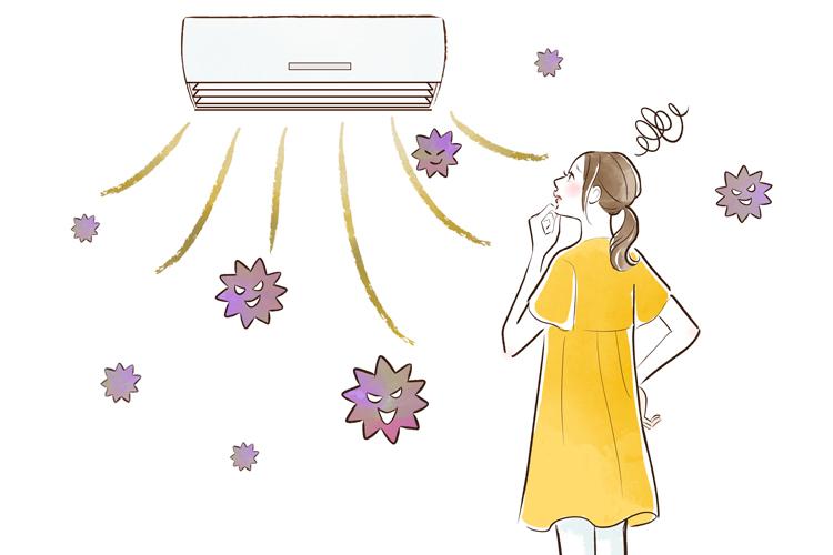 エアコンが、部屋中にカビを撒いてしまってる?「 カビが生える仕組み」を知って、きれいな空気で暮らしたい