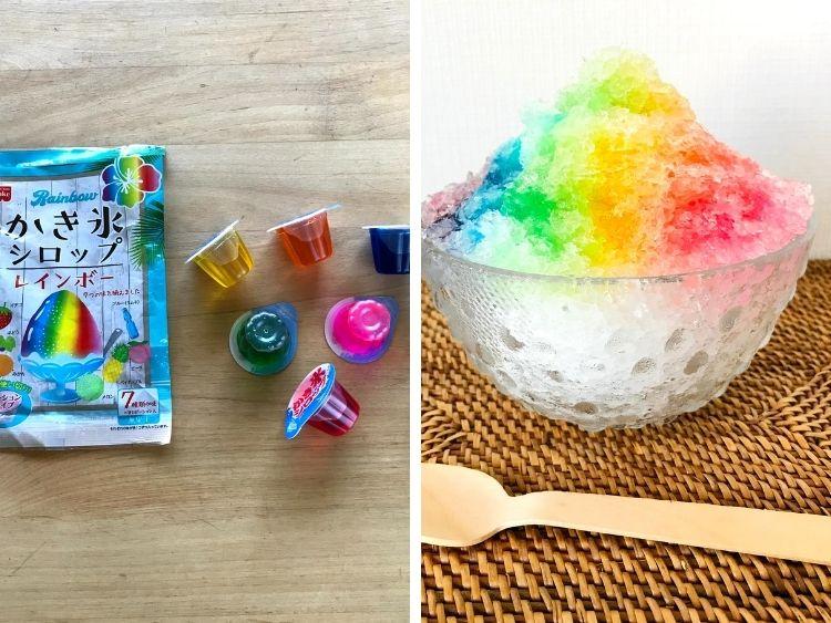 「レインボーかき氷」が楽しめる!ポーションタイプのシロップで幸せ気分【本日のお気に入り】