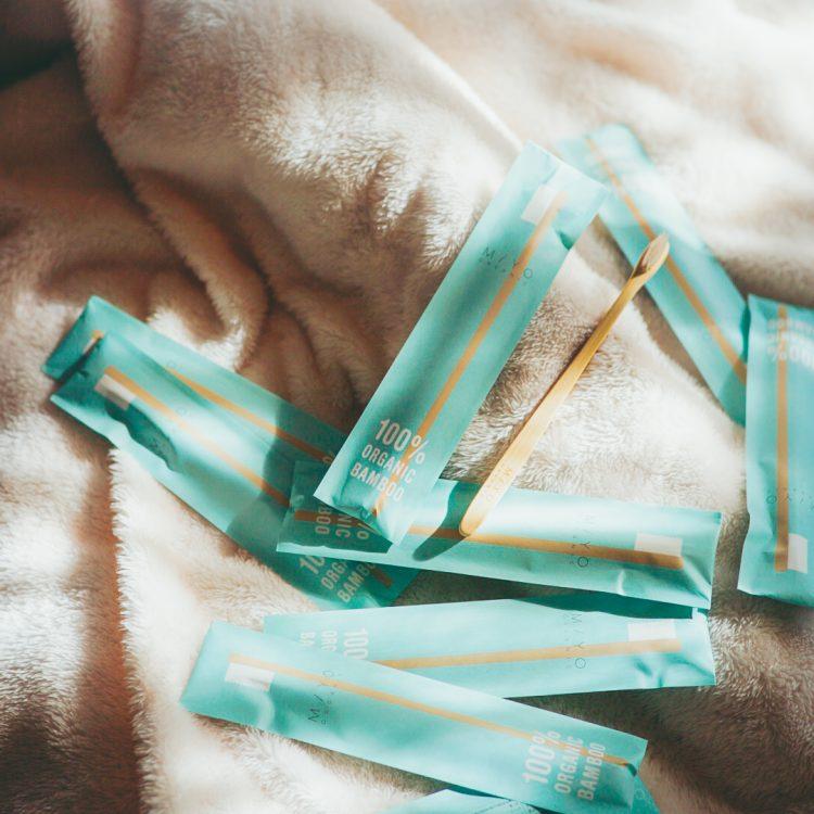 毎日の歯磨きを「MiYO-organic-」の竹歯ブラシに変えてみた!ちょこっとエシカル生活【本日のお気に入り】
