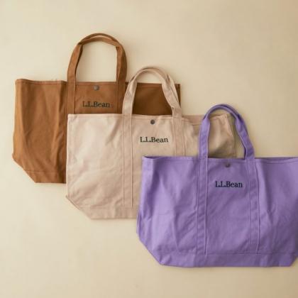 「L.L.Bean」グローサリートートに秋らしいSALON別注カラーが登場!WEB予約も受付中です